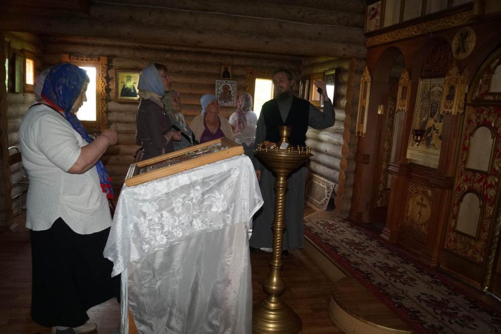 В Храме Ченстоховской иконы Божией Матери Симаково