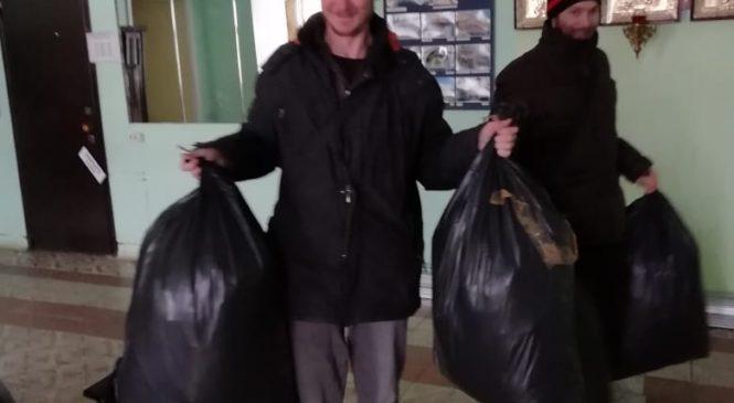 Отправка вещевой помощи в г. Пучеж