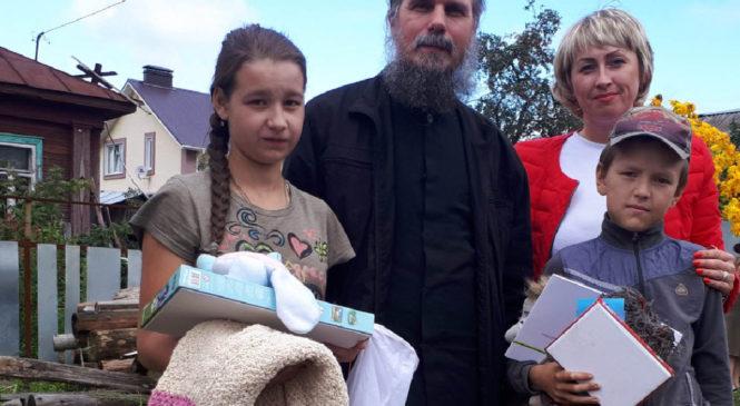 Подарки детям-инвалидам от ФКУ ИК-3