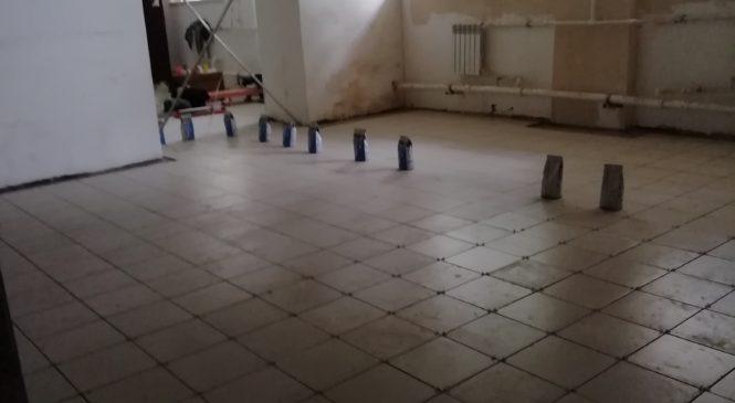 Завершение ремонтных работ на гуманитарном складе
