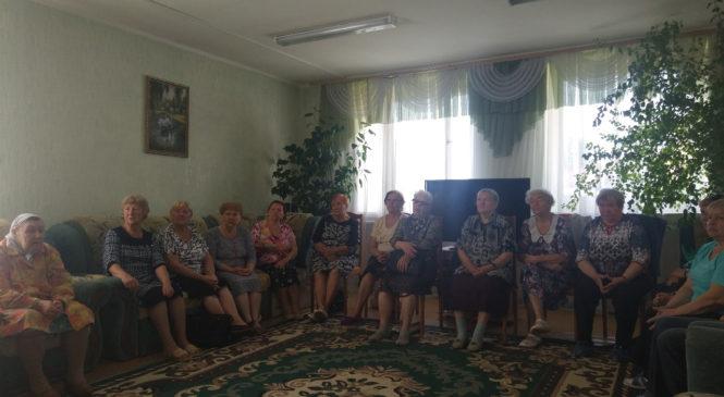 Беседа в ОБУСО КЦСОН